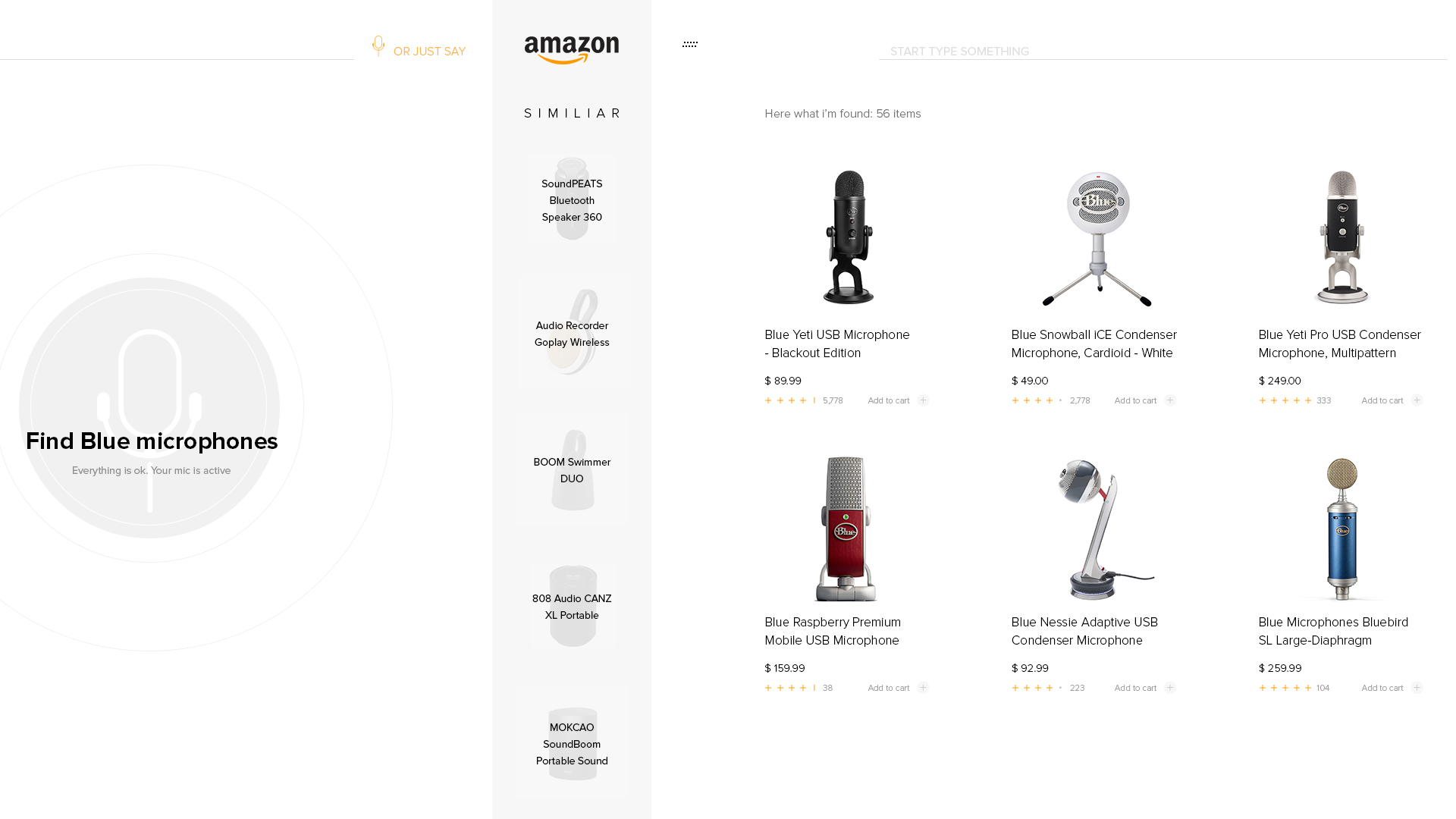 Amazon voice helper