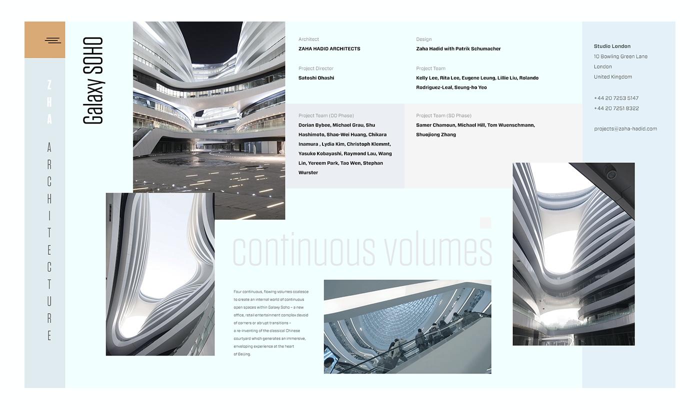 Zaha Hadid Architects Portfolio Element 2